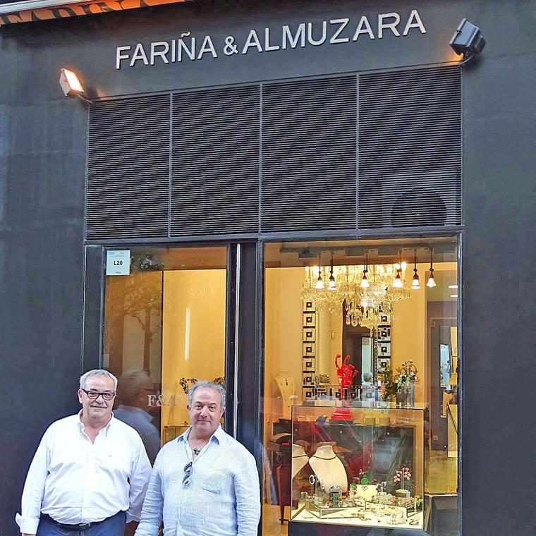 Fariña y Almuzara boutique in Madrid