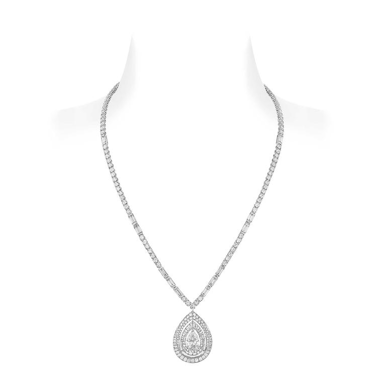 Joséphine Rondes de Nuit long diamond necklace