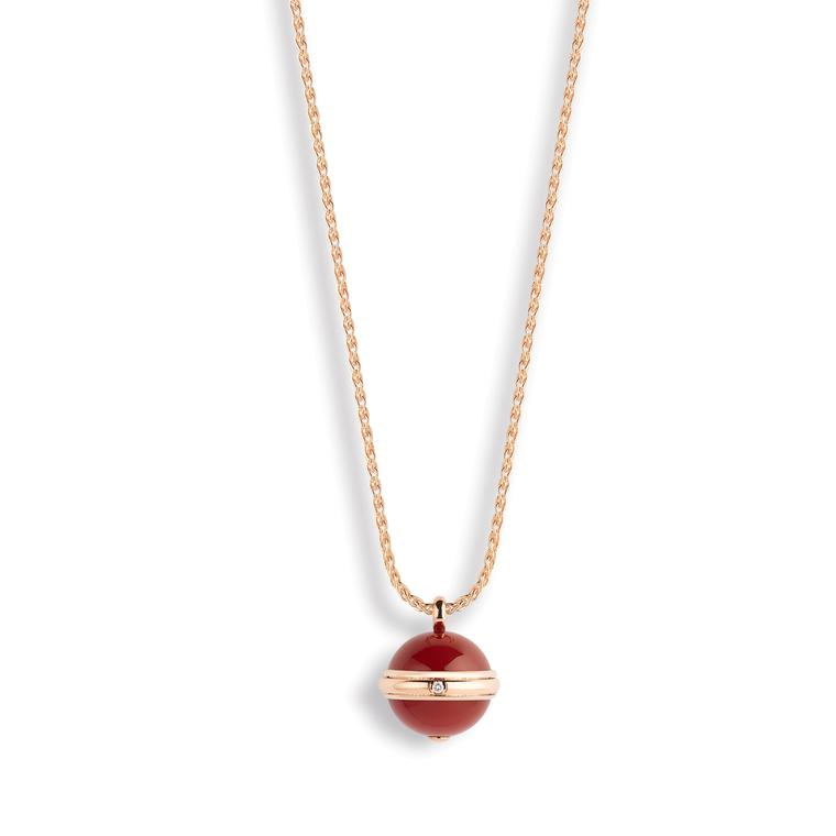 Piaget Possession red carnelian pendant