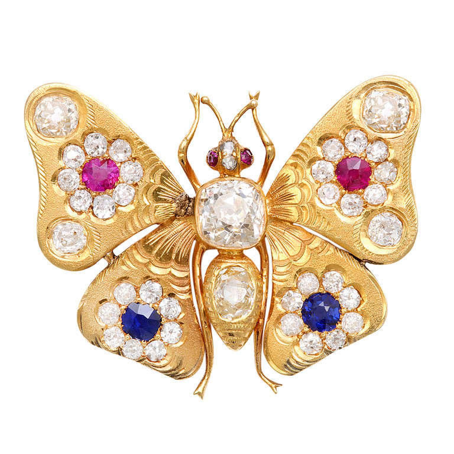 the vintage scale brooches gem false sides brooch butterfly la in article russie jewelry on of crop subsampling back atlantic antique jewellery upscale victorian both are set a vogue vieille
