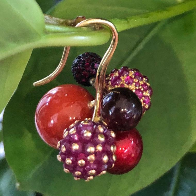 Ming Berry earrings