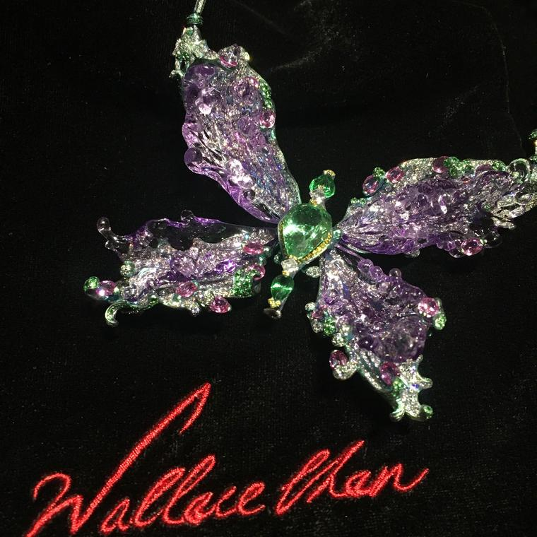 Wallace Chan butterfly brooch