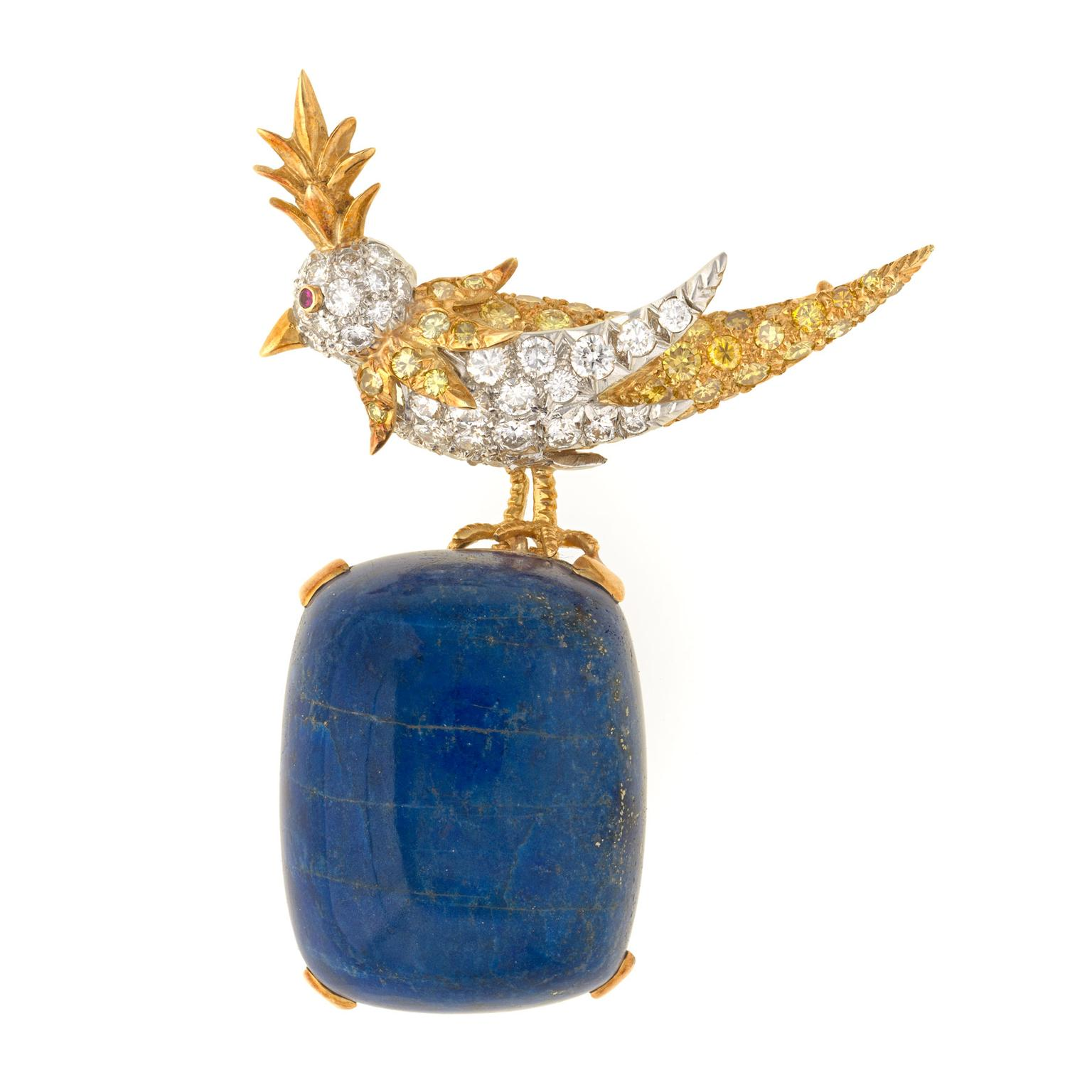 Jean Schlumberger Bird on a Rock brooch for Tiffany