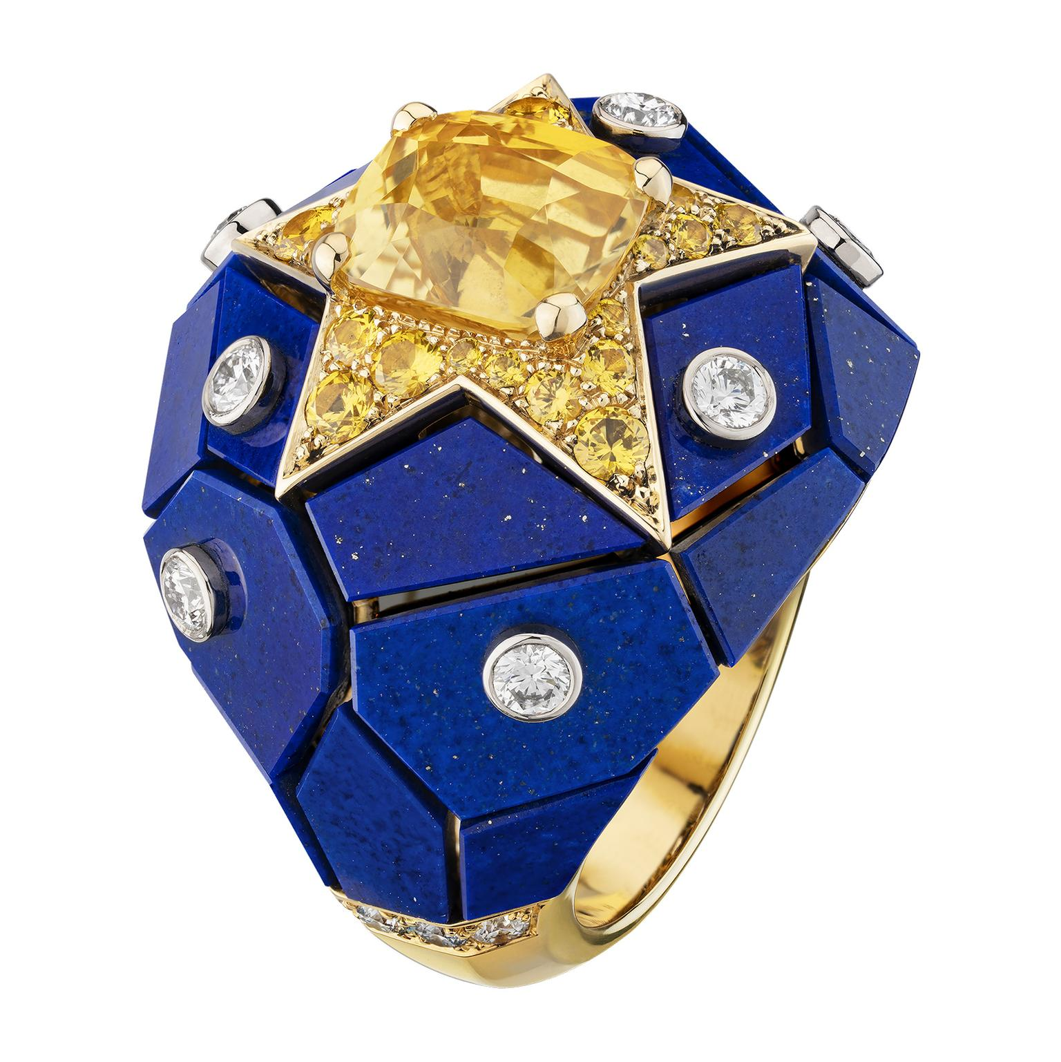 Constellation Astrale ring by Chanel
