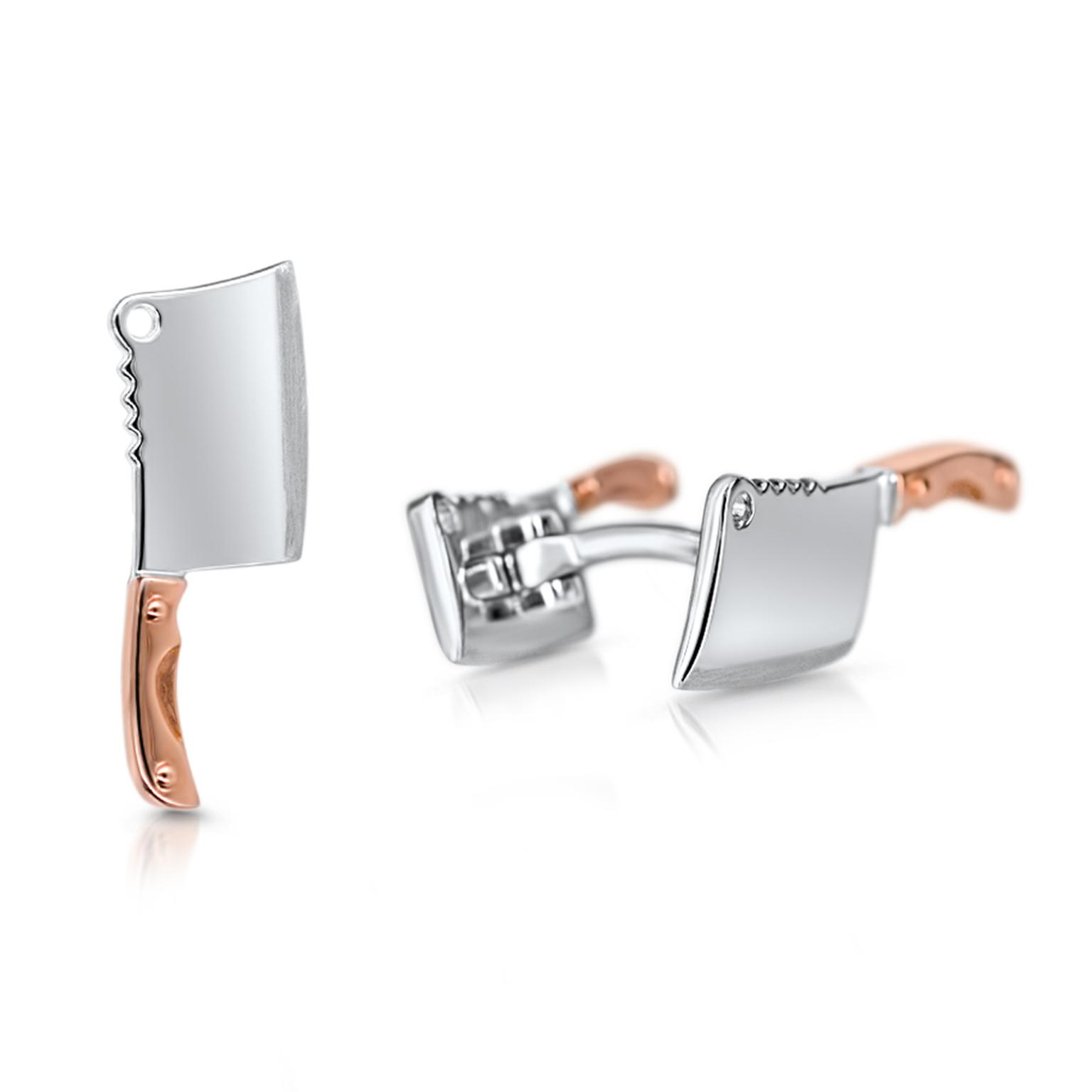 Pinner & Co Cleaver cufflinks