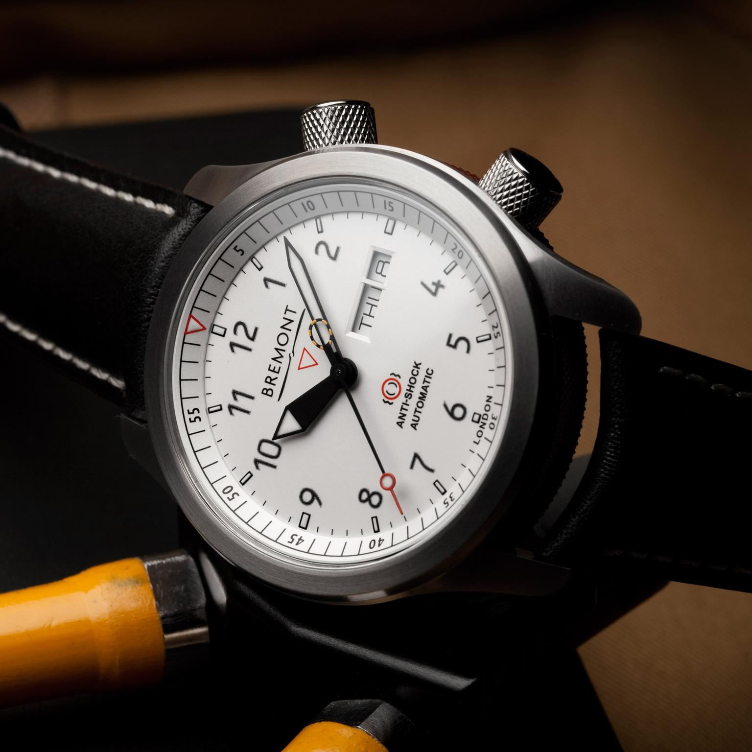 Bremont MBII White watch