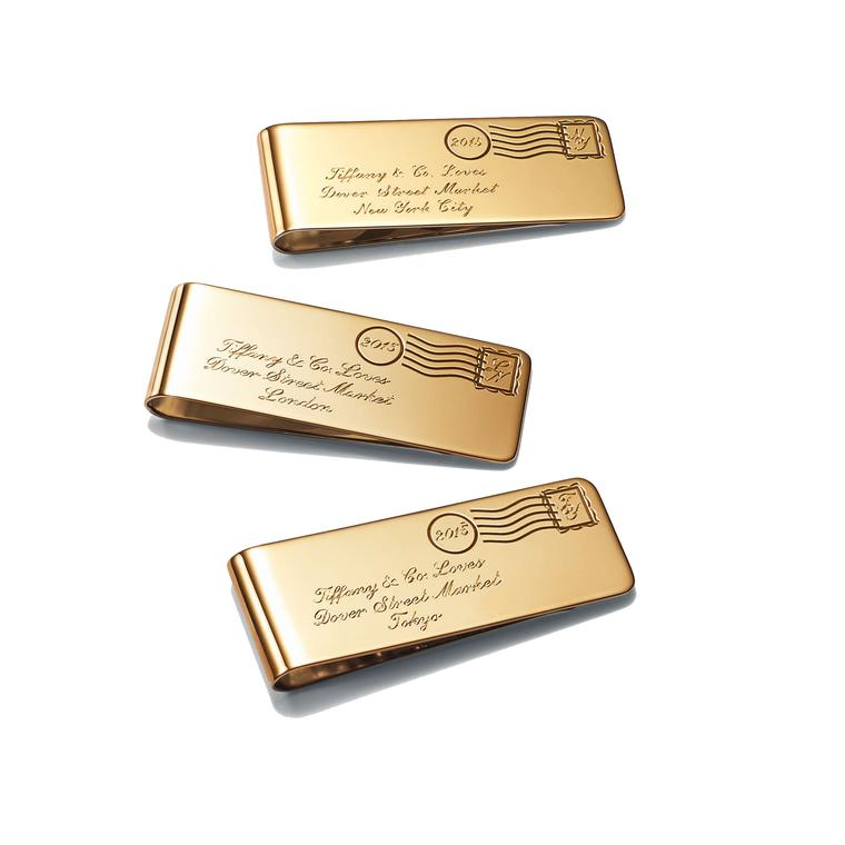 Tiffany and Dover Street Market money clips