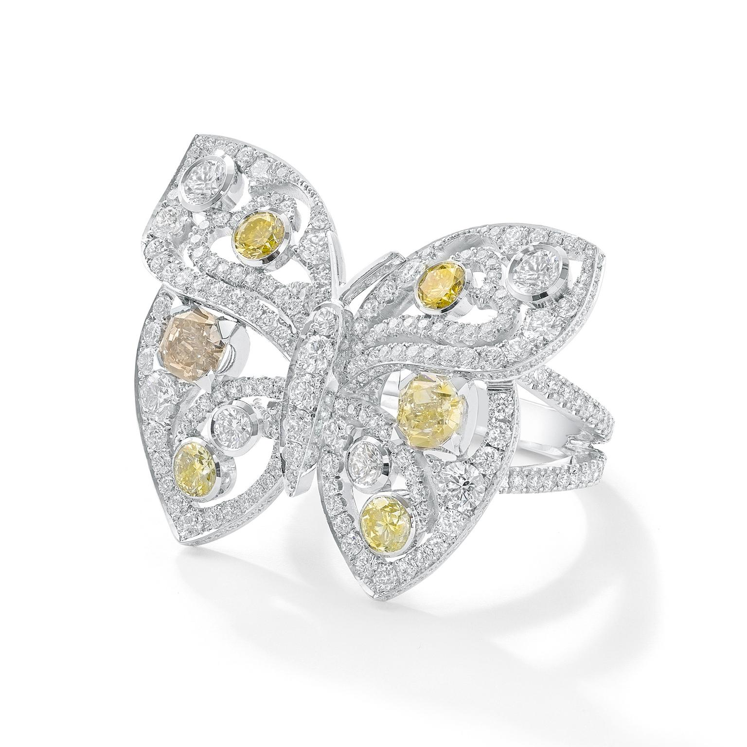Boodles Finely Coloured Diamonds at Harrods