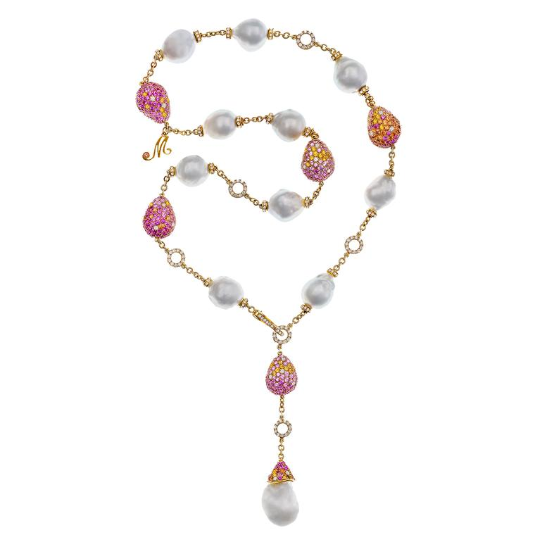 Margot McKinney Bliss baroque pearl necklace