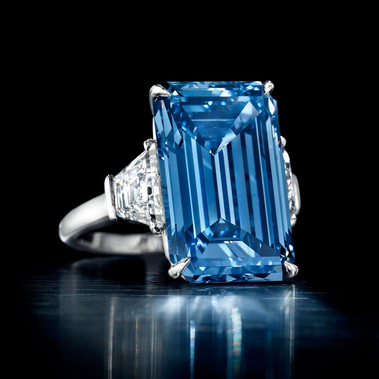 Could the Oppenheimer Blue diamond break all records?
