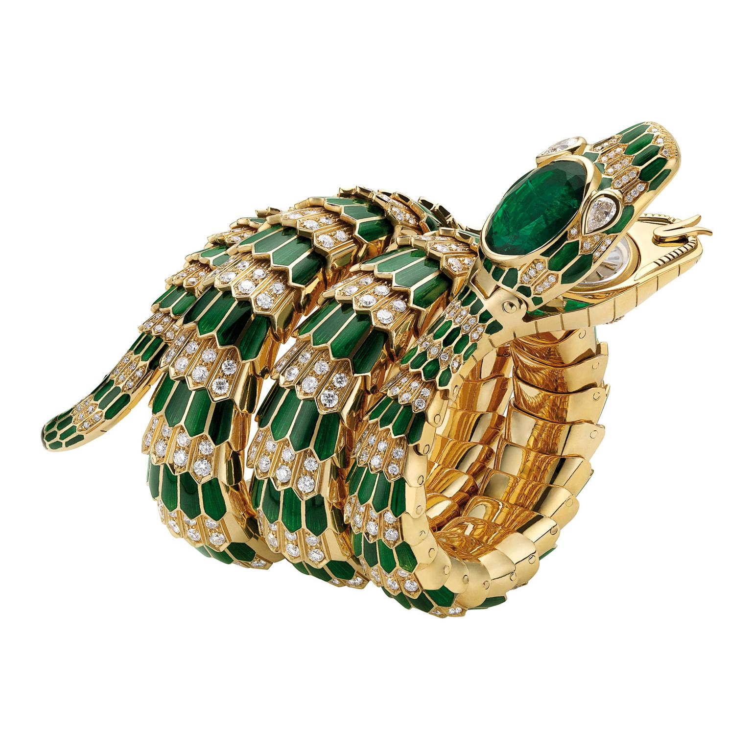 Bulgari Serpenti bracelet-watch from the Bulgari Heritage collection, 1969