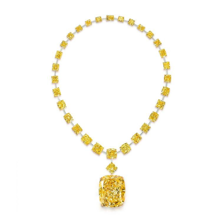 132ct yellow diamond takes pride of place in Graff's hall of historic coloured gemstones