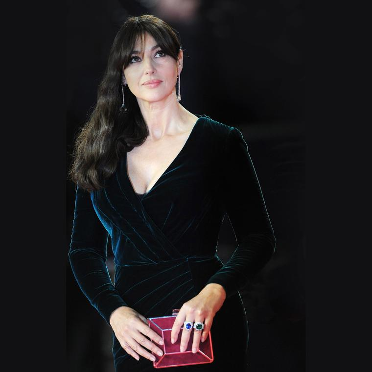 Chopard jewellery worn by Monica Bellucci