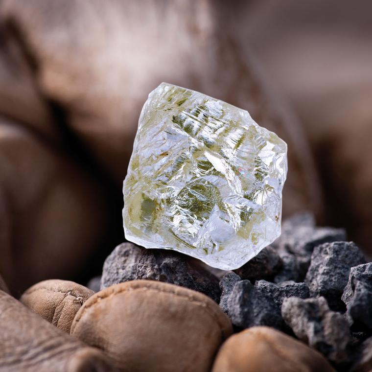 The 187.7 carat Diavik Foxfire diamond