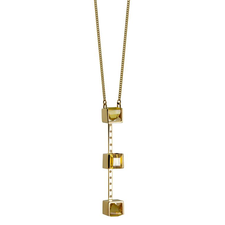 Kattri Quadrant necklace