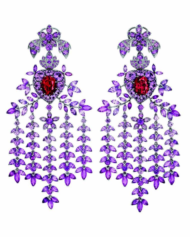 Gucci Hortus Deliciarum Heart and Arrow earrings