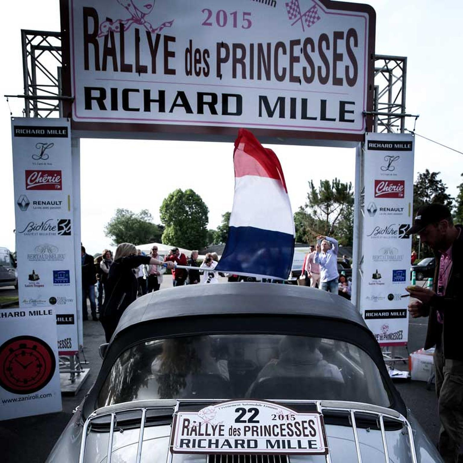 Richard Mille at Rallye des Princesses, image courtesy of Didier Gourdon