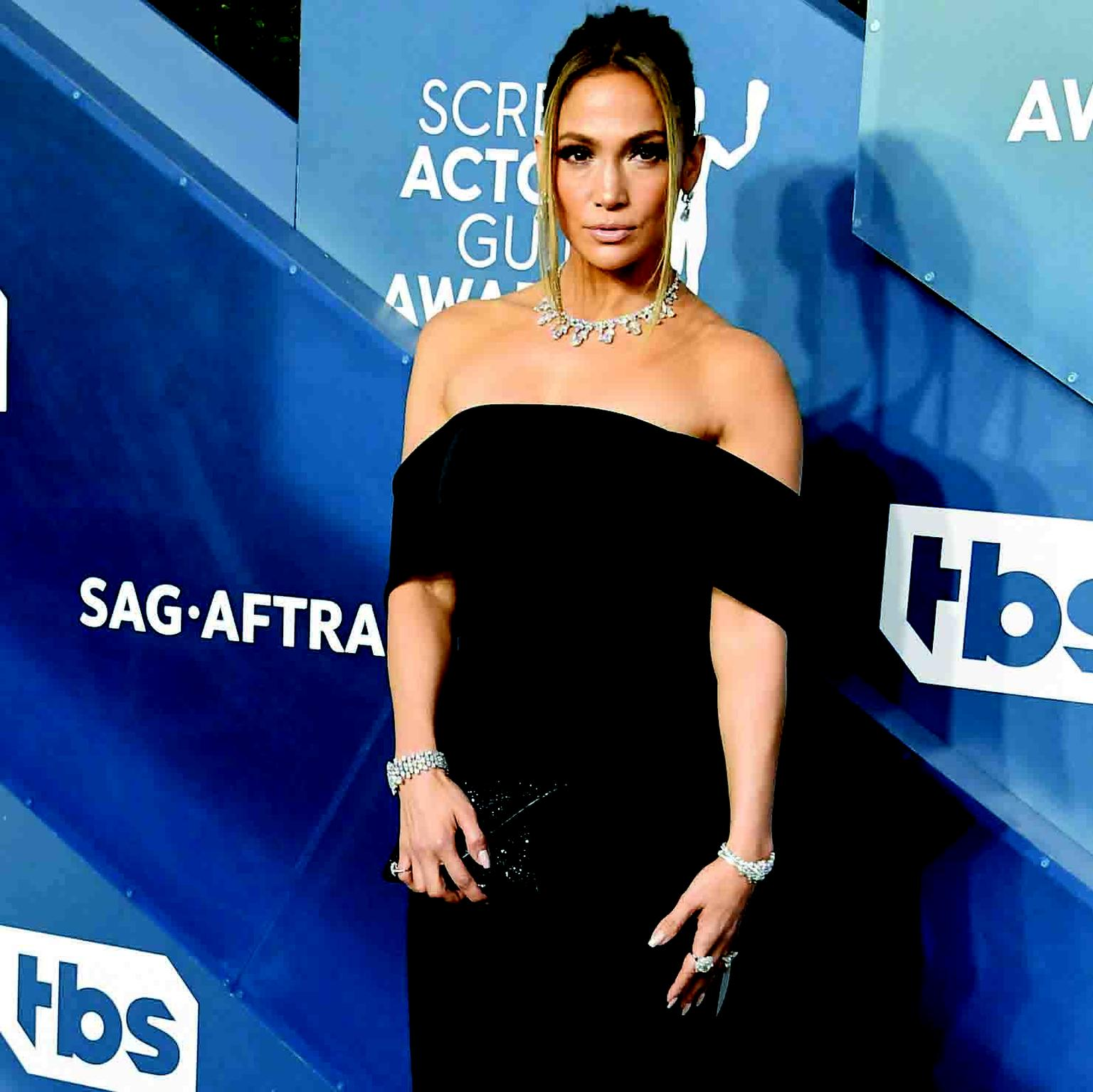 Jennifer Lopez Harry Winston SAG Awards 2020