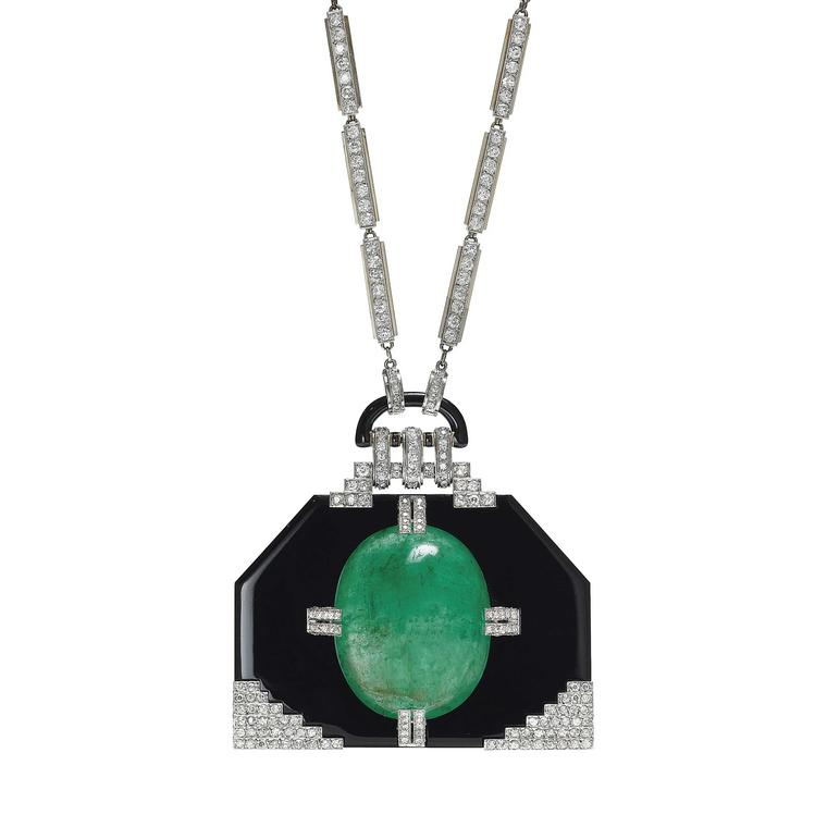 Christies Auction Lot 110 Art Deco Georges Fouquet pendant 1925