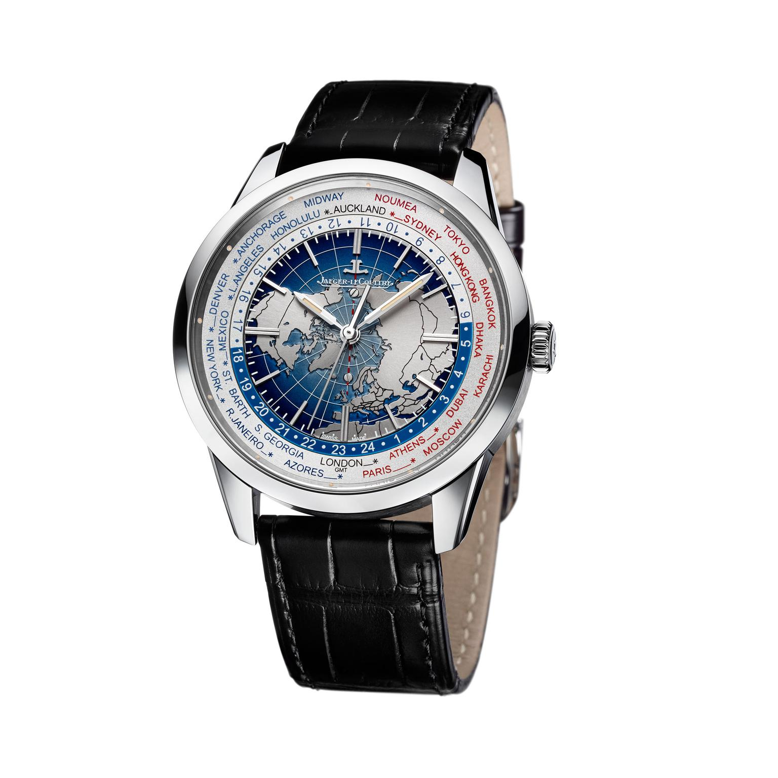 Jaeger-LeCoultre Universal Time SS watch