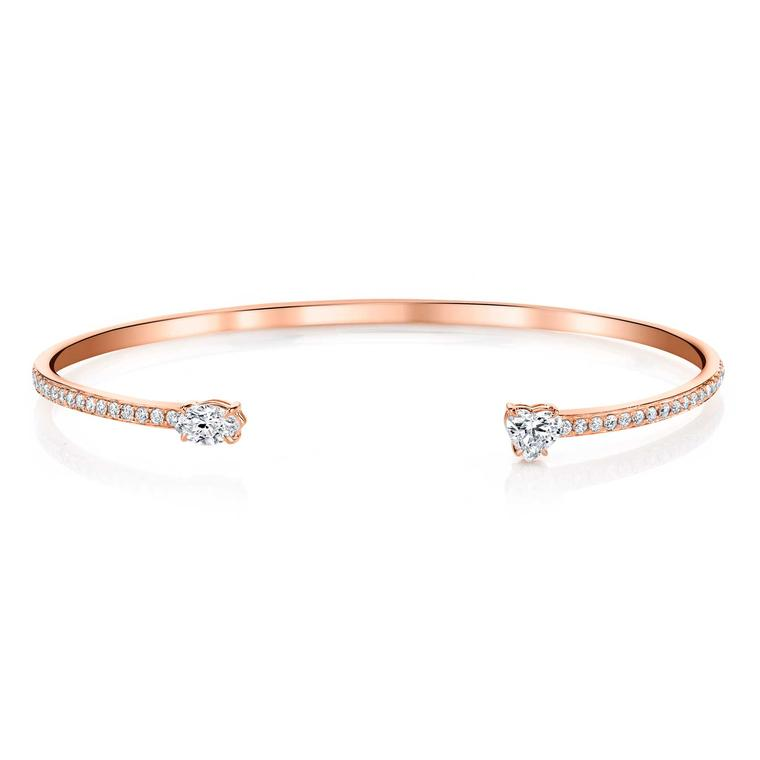 Anita Ko diamond cuff in rose gold