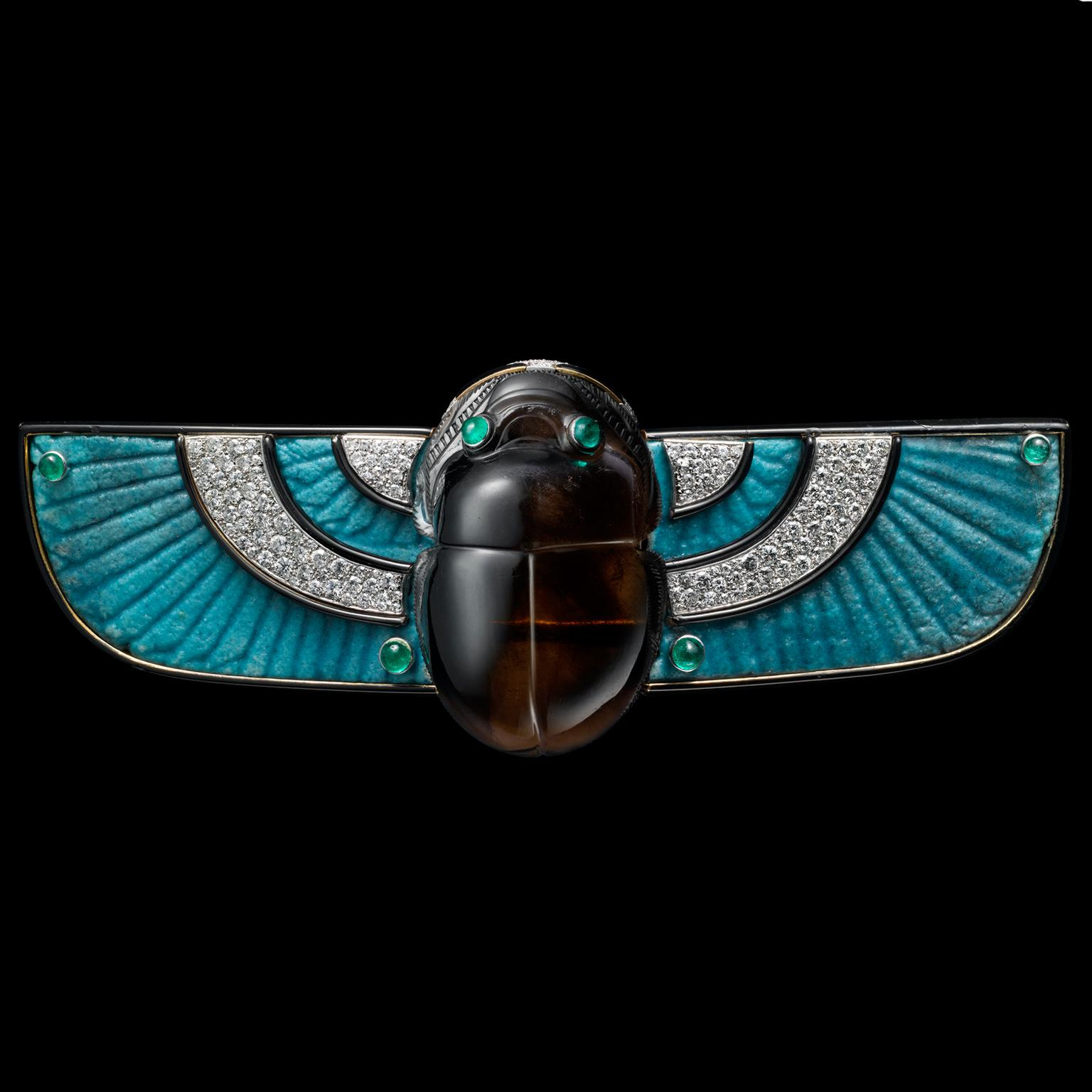 Cartier Scarab brooch 1924