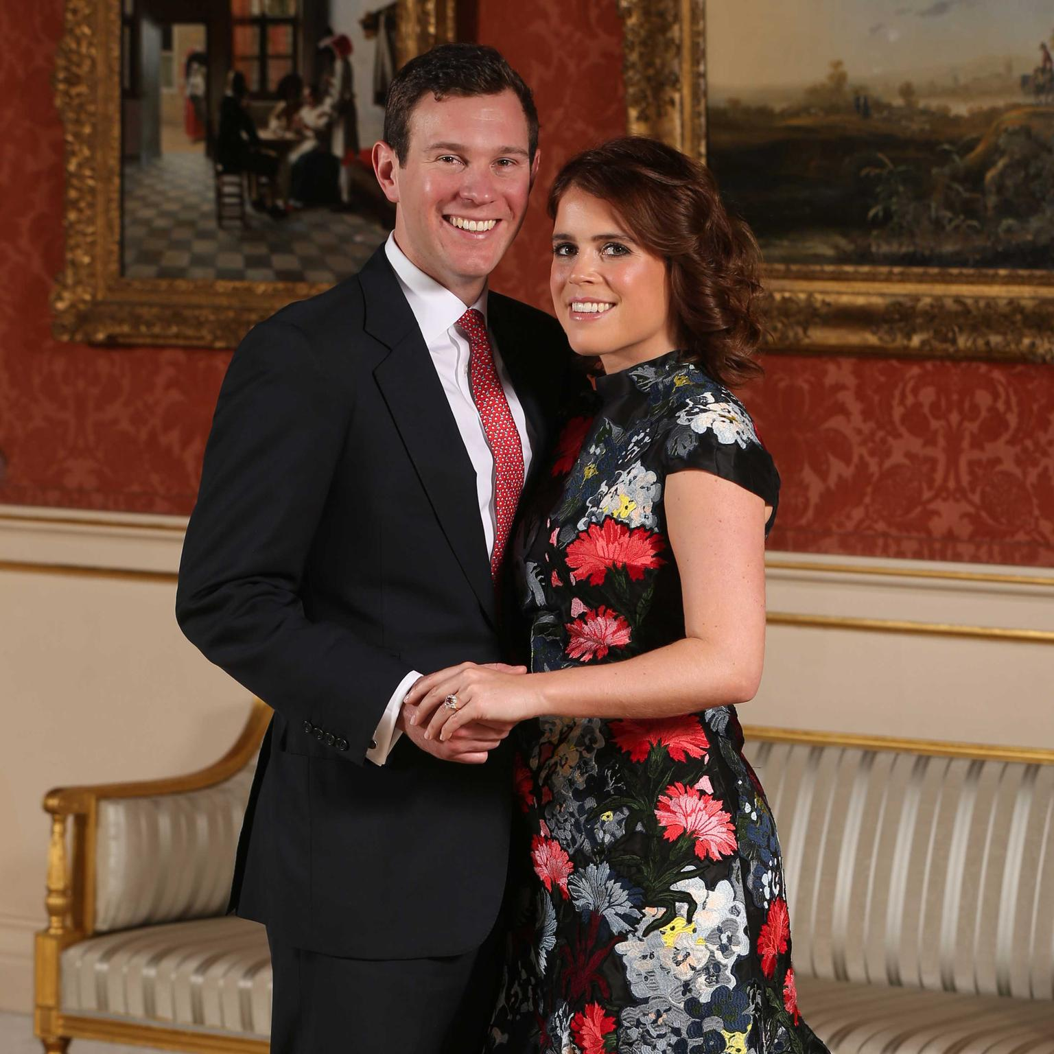 Princess Eugenie and Jack Brooksbank official engagement photograph