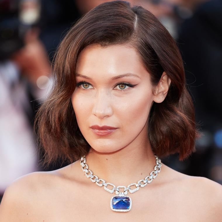 Bella Hadid in Bulgari Cannes 2017