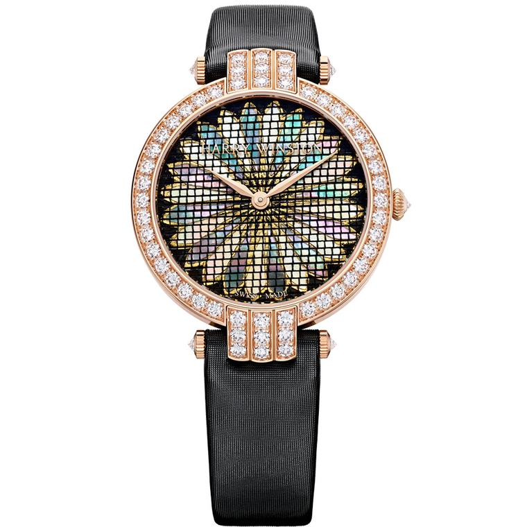 Premier Precious Weaving chrysanthemum watch
