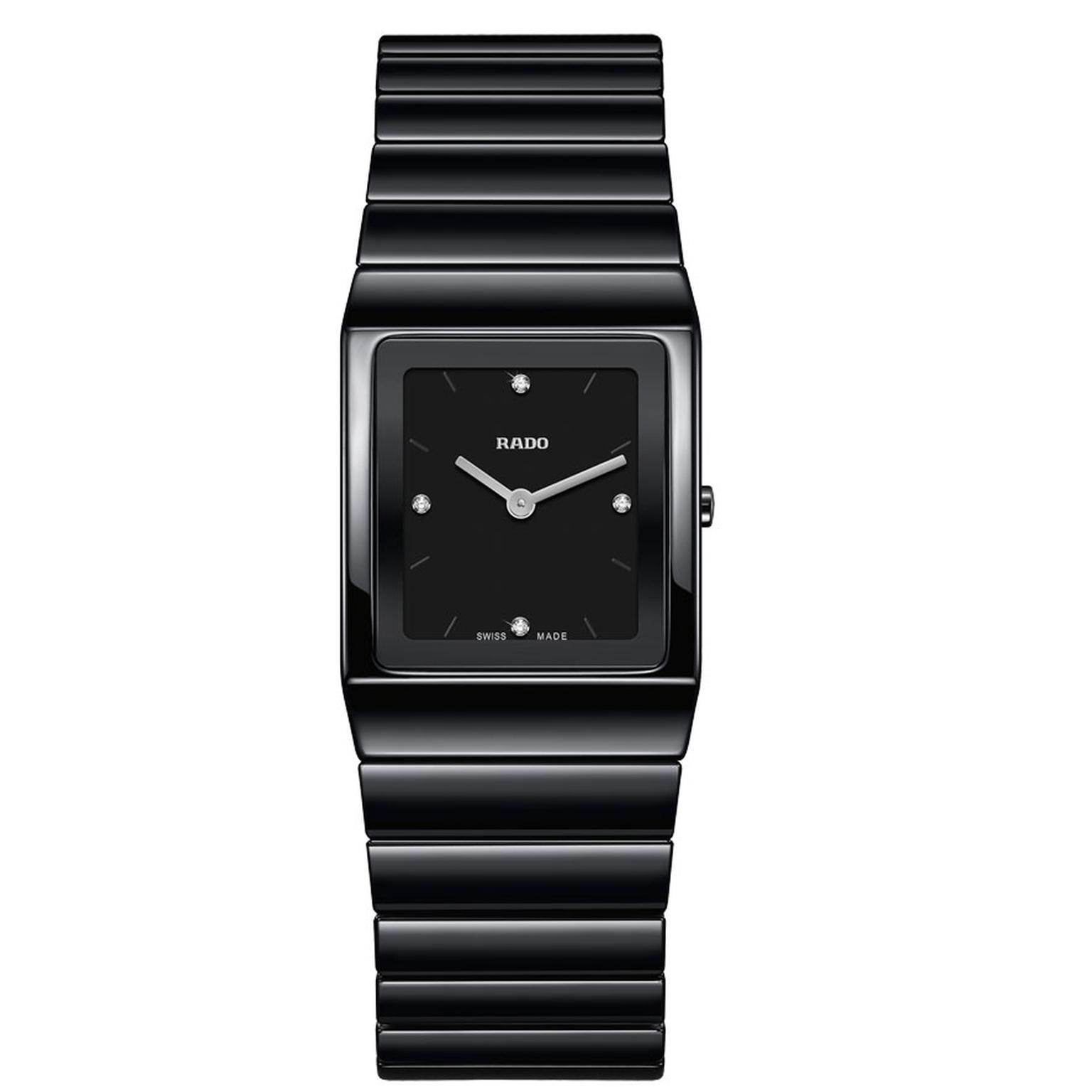 Rado Ceramica ladies' watch in black