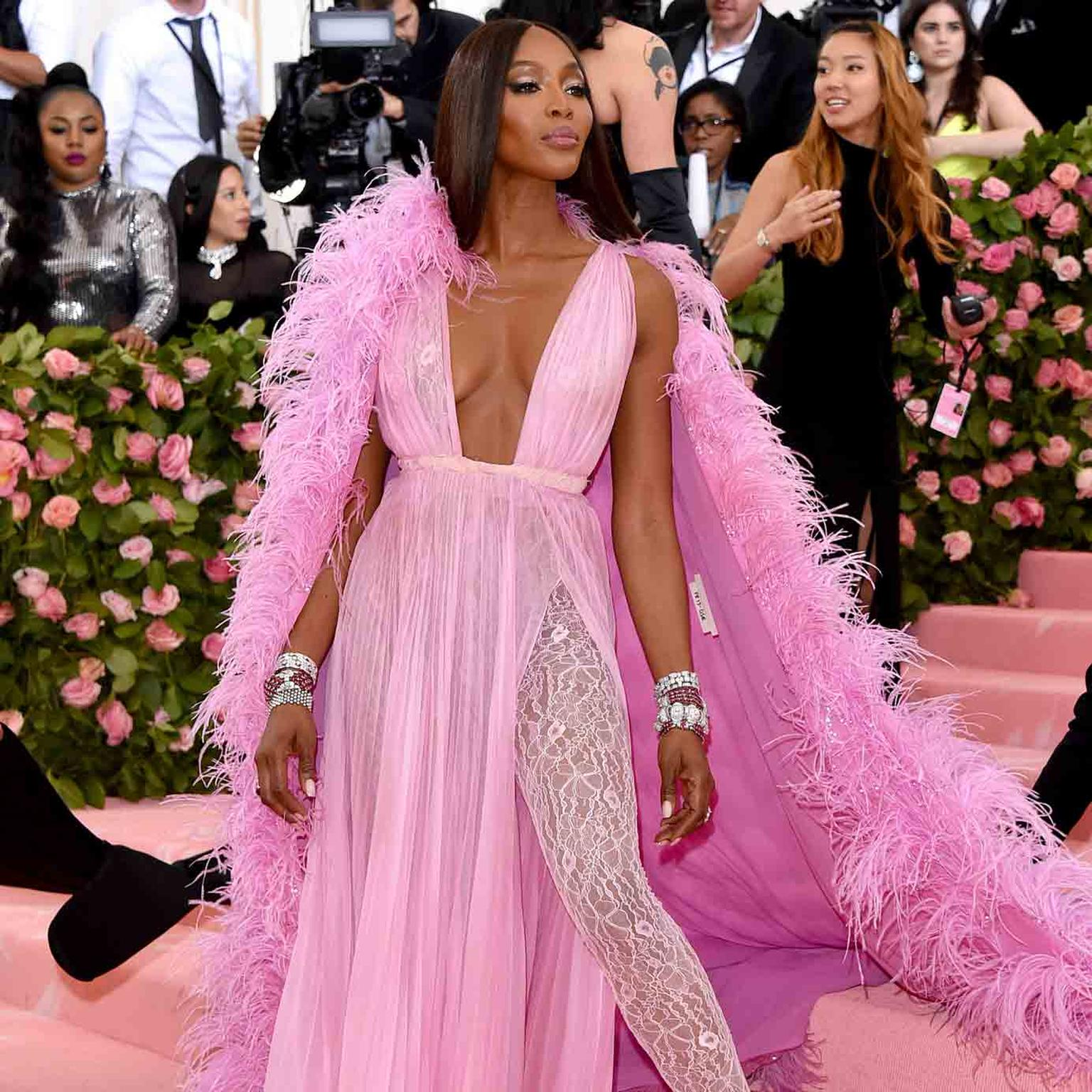 MET GALA 2019 NAOMI CAMPBELL in Bulgari jewels