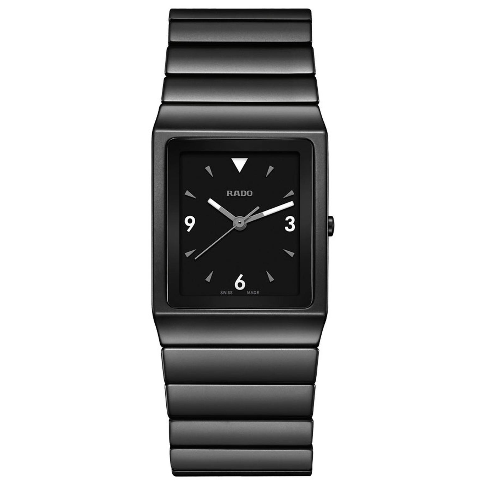 Rado Ceramica signature ceramic watch in black