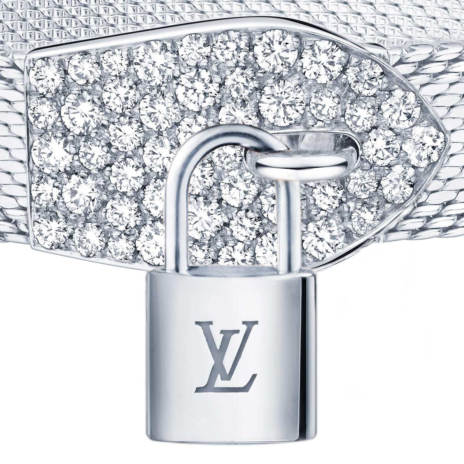 Louis Vuitton Lockit bracelet lock