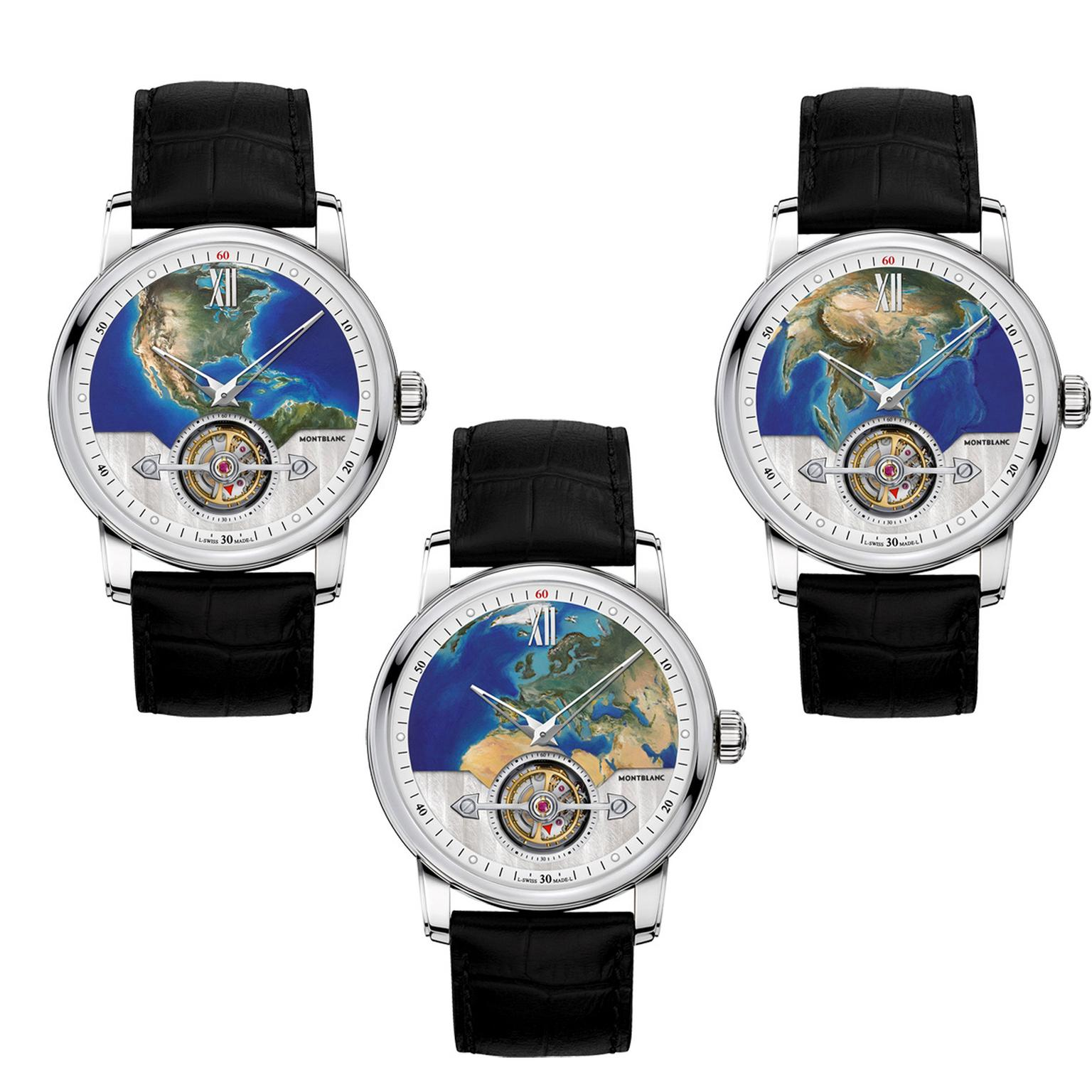 Montblanc 4810 ExoTourbillon watch trio