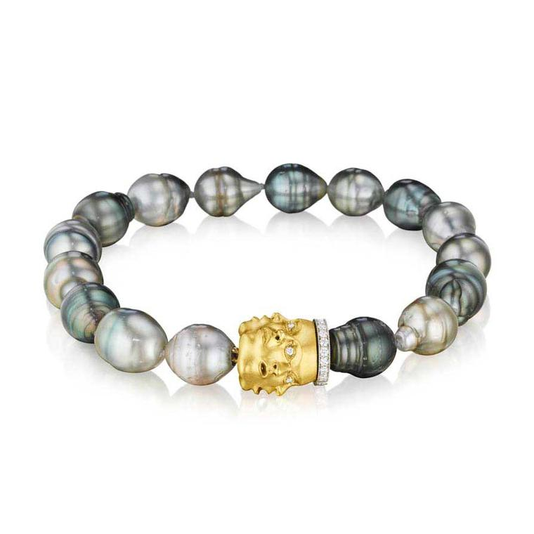 Anthony Lent Tahitian pearl Emotions bracelet