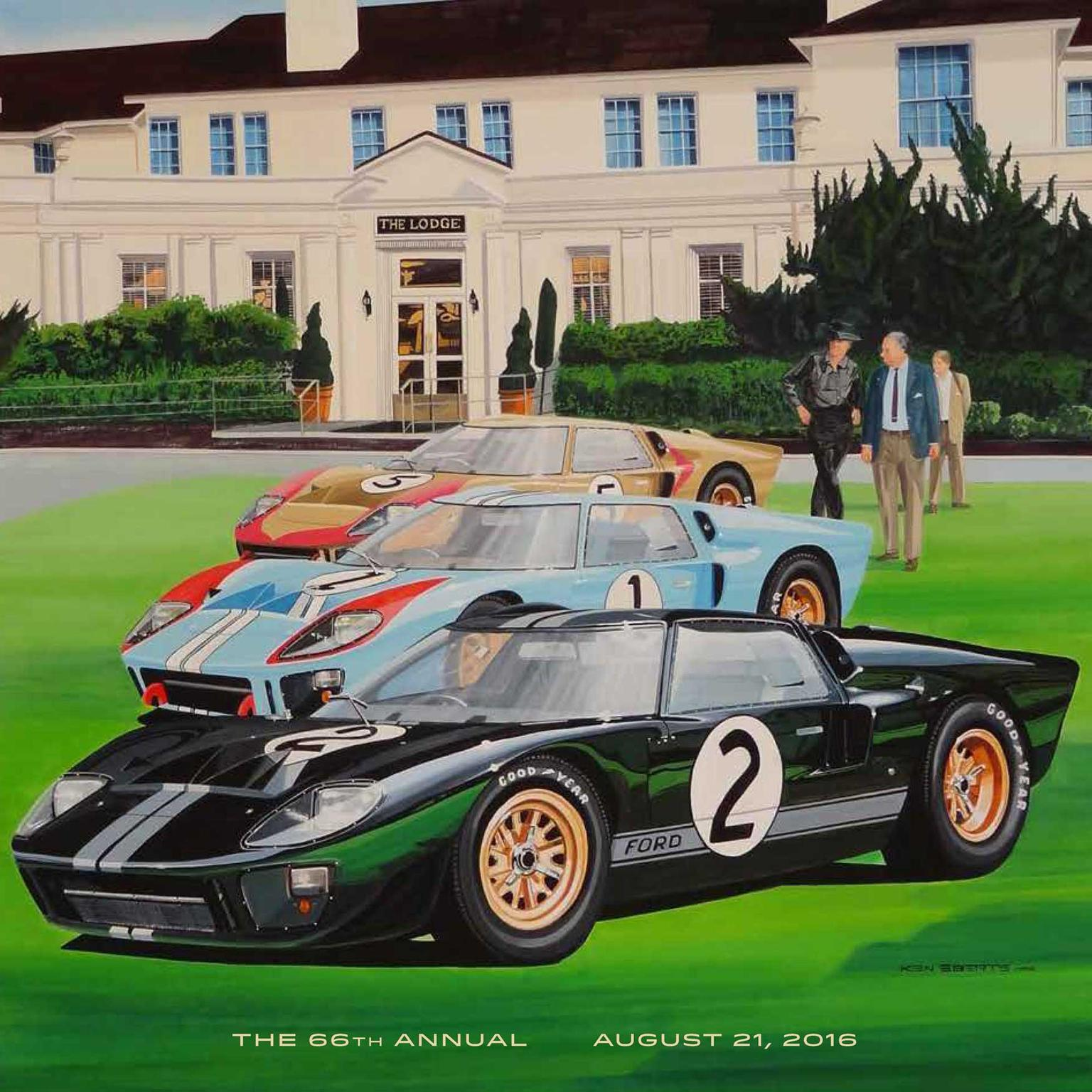 Pebble Beach poster