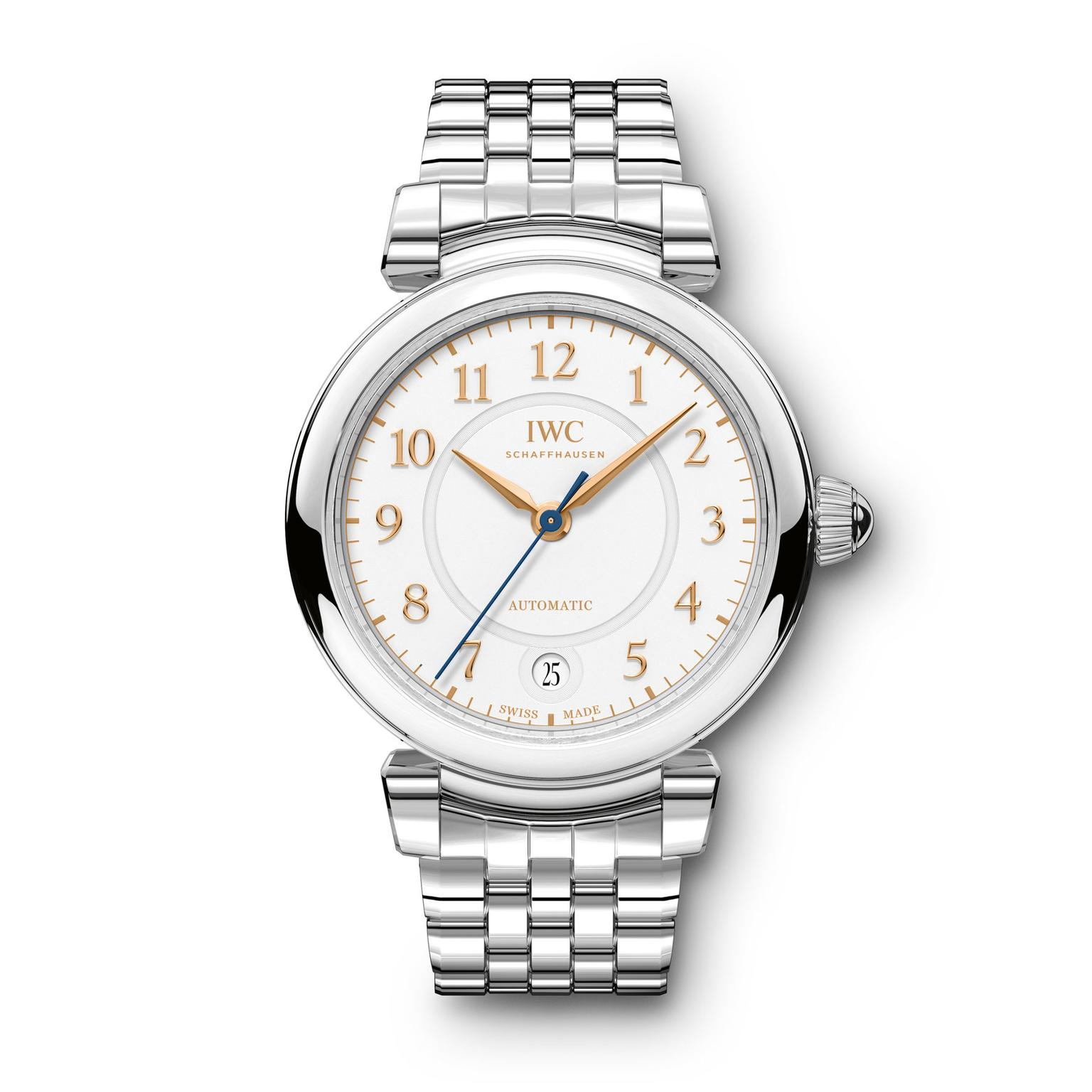 IWC Da Vinci Automatic 36mm steel watch for women