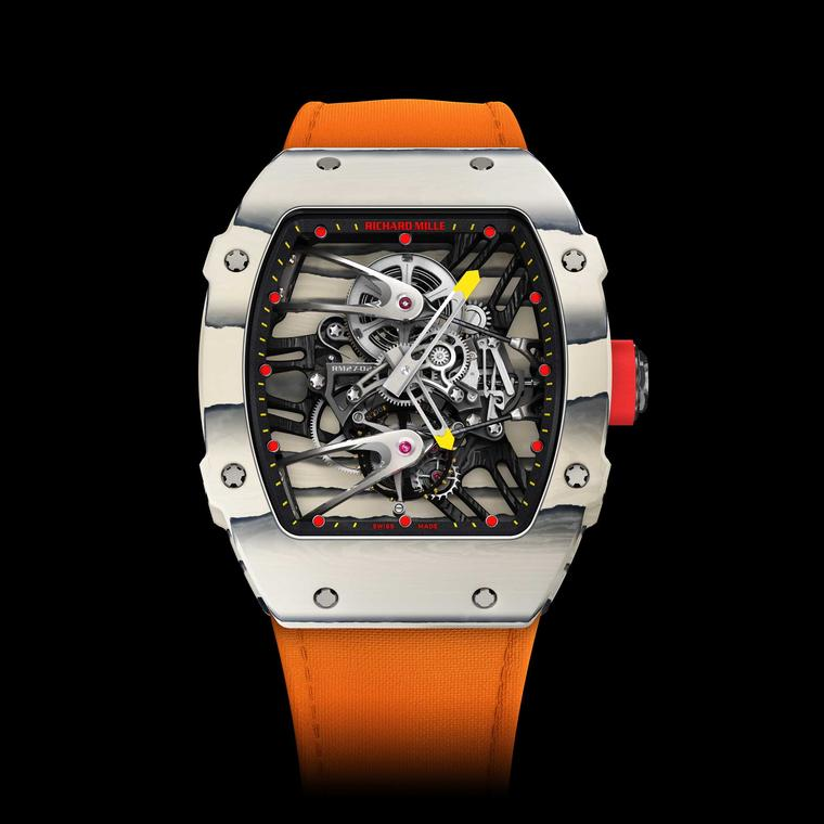 The Richard Mille RM 27-02 Tourbillon worn by the King of Clay will be auctioned for a good cause