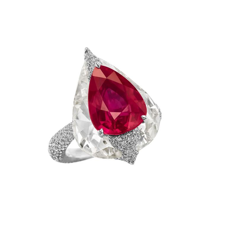 Boghossian High Jewellery ruby ring