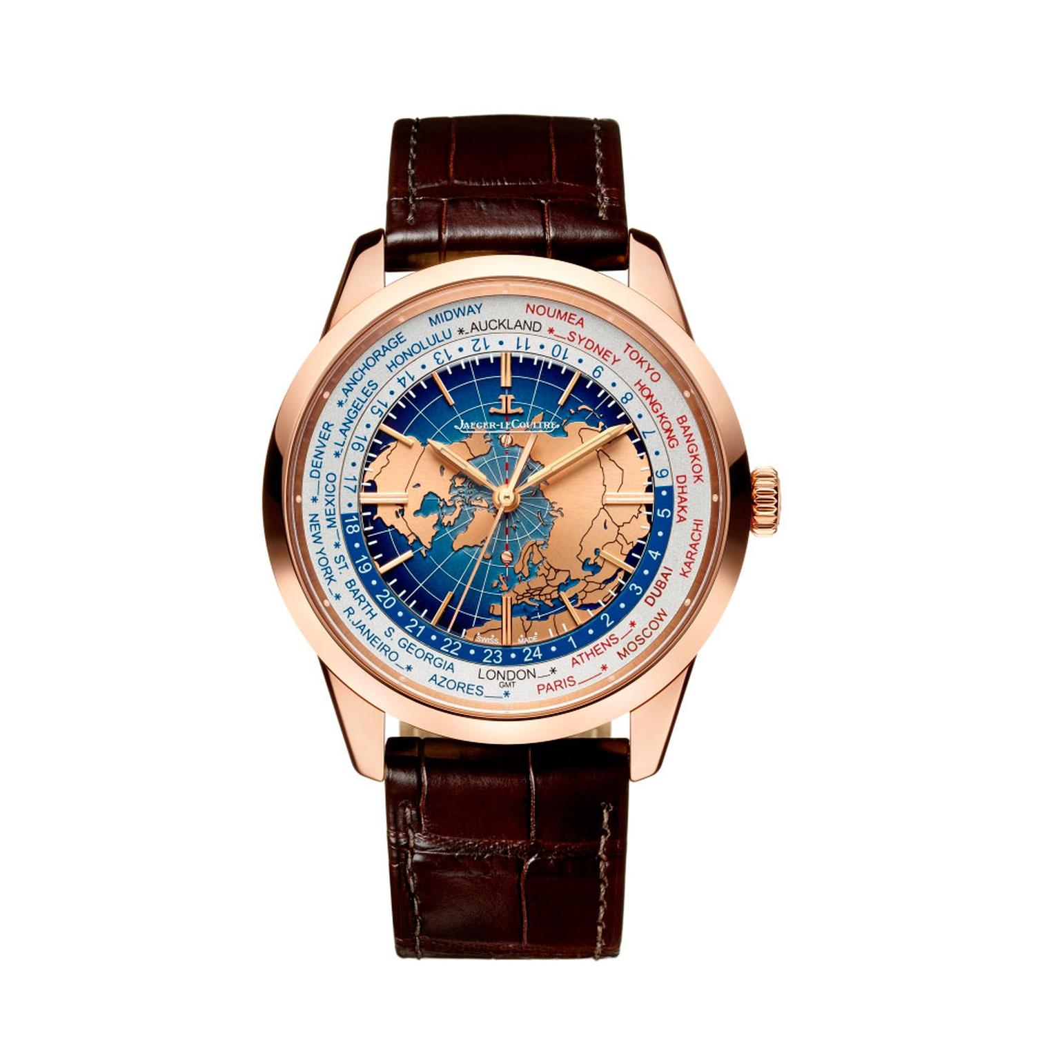 Jaeger-LeCoultre Geophysic Universal Time PG watch