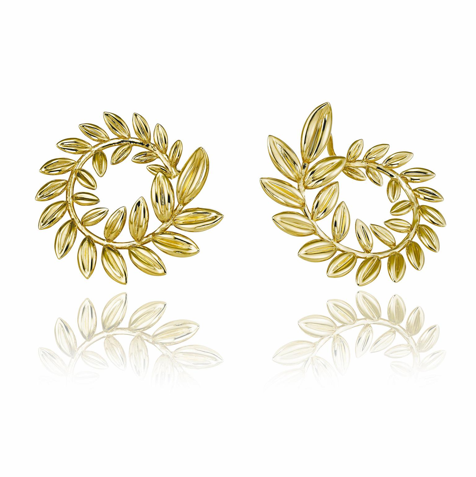 Chopard Fairmined yellow gold earrings