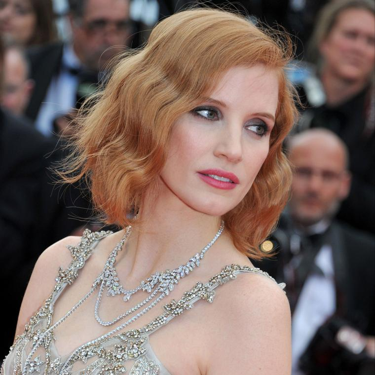 Cannes 2016 Day 2: Jessica Chastain in Piaget