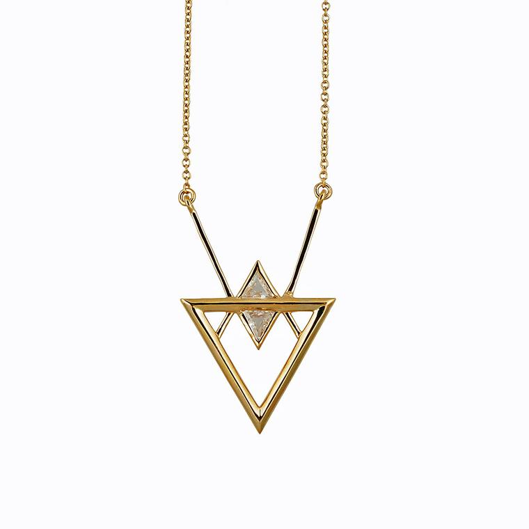 Rachel Boston Thurisaz necklace