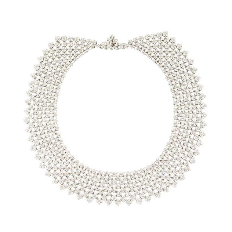 Simon Teakle Tiffany diamond necklace
