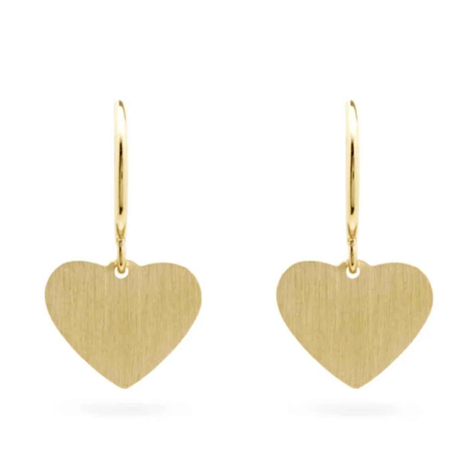 Heart earrings by Irene Neuwirth