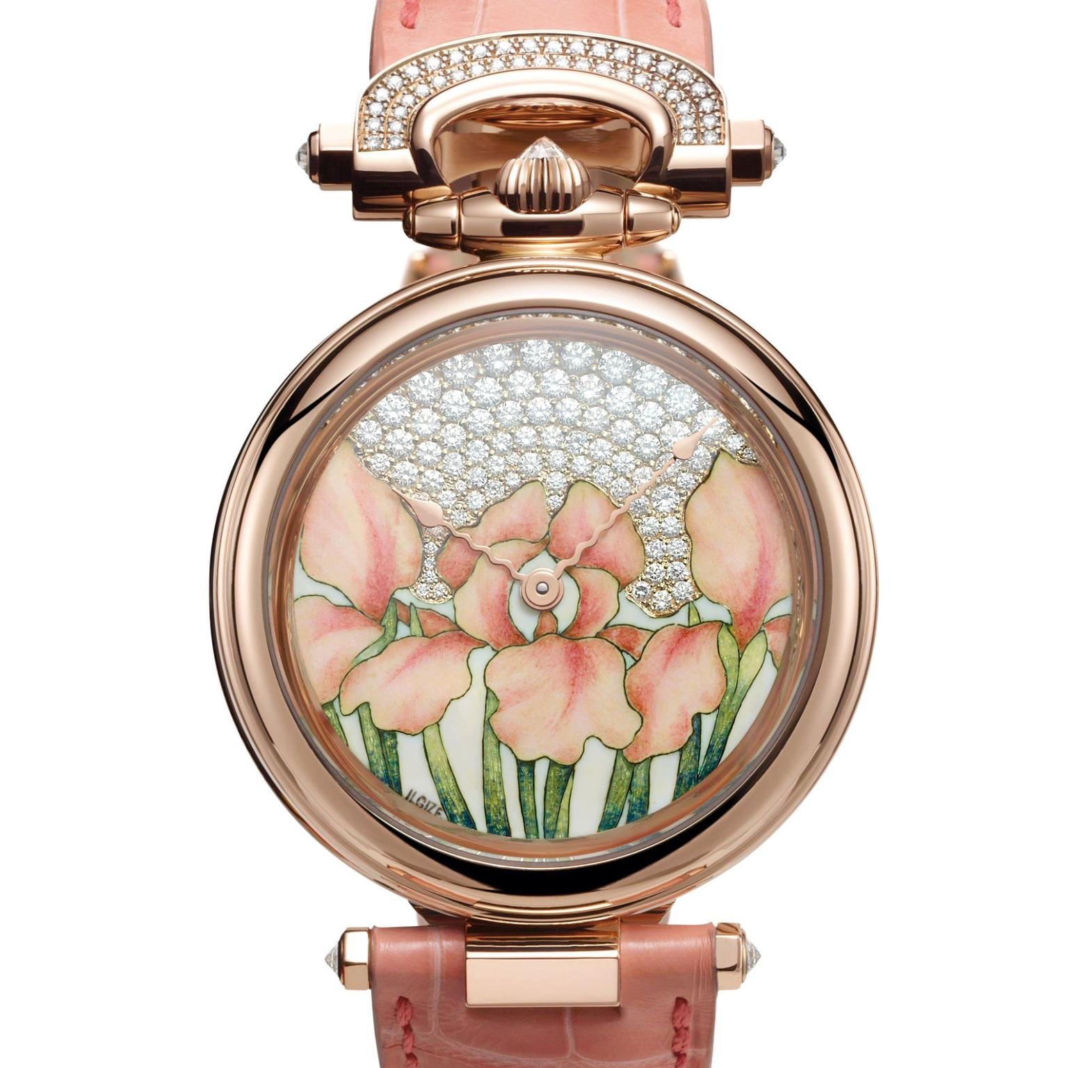 Bovet Amadeo Fleurier 39mm Orange Iris by Ilgiz F