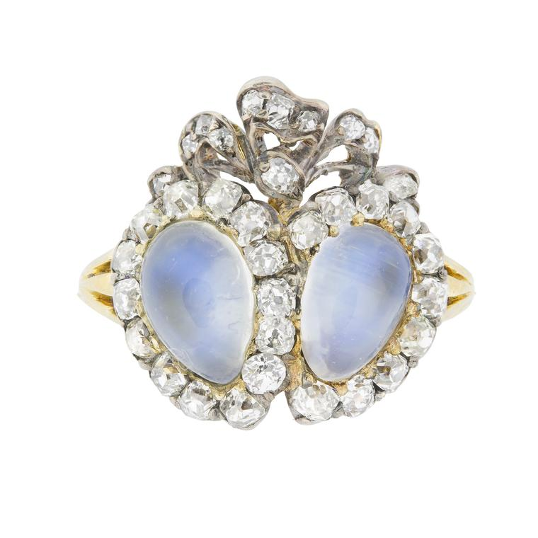 Bentley Skinner victorian moonstone ring
