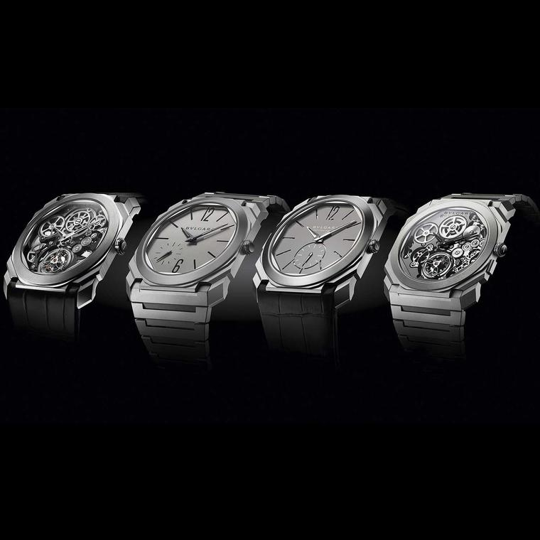 Bulgari Octo Finissimo world record breaking watches