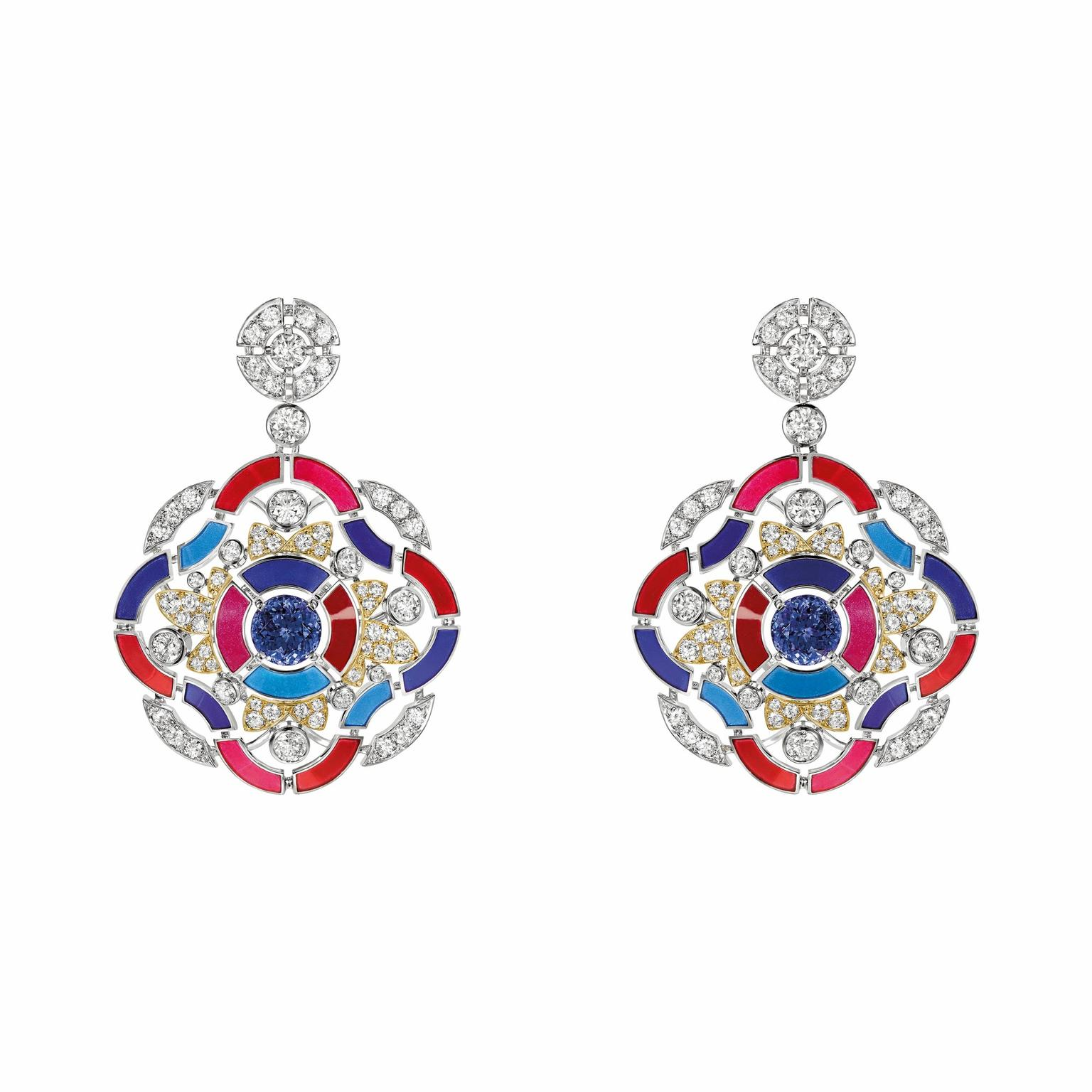 Chanel Talisman collection earrings