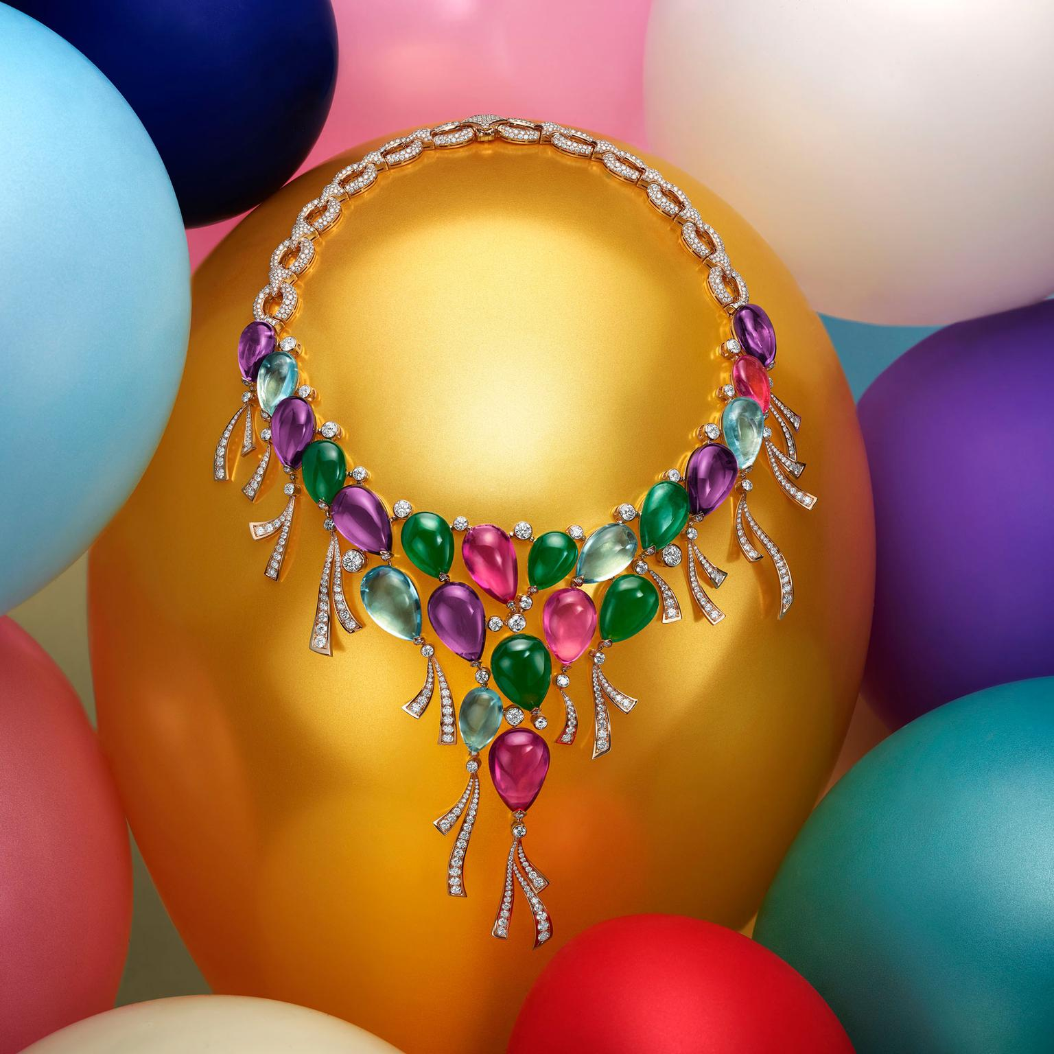 Bulgari Festa Palloncini balloon high jewellery necklace